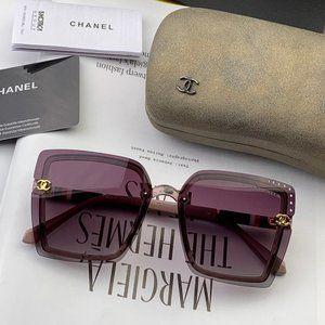 Chanel Women Purple Sunglasses CH026
